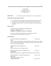 Cook Resume Sample Pdf Culinary Resume Resume Samples Across All Industries Sous Chef