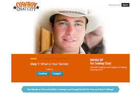 the site only because of a somewhat single minded greeting photo    Cowboy Dating Expert