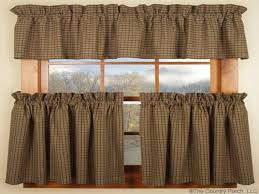 country kitchen curtains how to make those curtains miss mustard