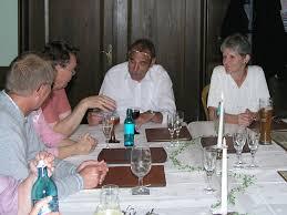 Funker-Treffen in Walluf 2006: Hartmut, Werner, Günter, Liane