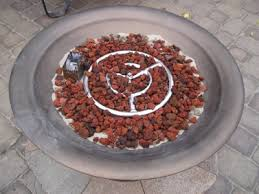 Fire Pit Burner by Clean Burning Outdoor Firepits Propane Burner Authority And