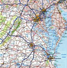 Vegas Monorail Map Map Of Virginia And West Virginia Together Virginia Map