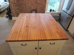 Counter Height Kitchen Islands Counter Height Butcher Block Kitchen Island How To Clean Butcher