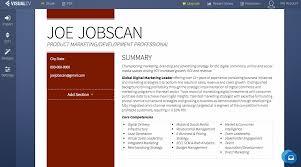 free resumes maker resume builders jobscan visualcv