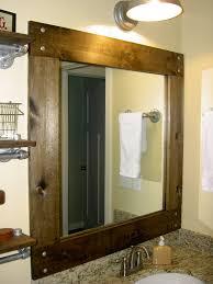 pictures of framed bathroom mirrors stylish framed bathroom