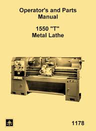 jet enco msc asian 1550 t metal lathe instructions u0026 parts