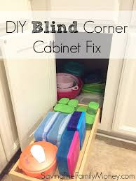 Blind Corner Kitchen Cabinet by Best 25 Corner Cabinet Storage Ideas On Pinterest Ikea Corner