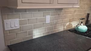 Crackle Tile Backsplash - Crackle subway tile backsplash