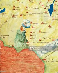 Map Of The Red Sea Nile River Delta Red Sea And Mount Sinai From Atlas Of The World