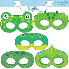 reptile printable masks lizard mask turtle happilyafterdesigns