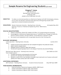 Simple Resume Examples by Simple Resume Example 9 Examples In Word Pdf
