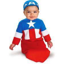 Baby Halloween Costumes Walmart Captain America Infant Halloween Costume Walmart
