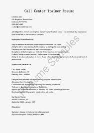 Call Center Resume Examples  call center resume     best call