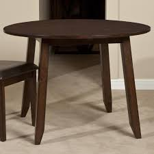 Round Wooden Table Top View Wooden Round Top Drop Leaf Dining Table By Intercon Wolf And