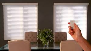 automatic blinds or motorized shades make windows smart and