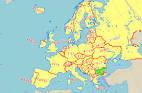 ブルガリア:ブルガリア地図