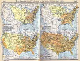 Unite States Map by Map Of The United States Since 1803