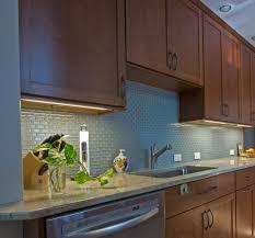 Kitchen Backsplash Cherry Cabinets by Ivory Fantasy Granite Kitchen Traditional With Glass Tile