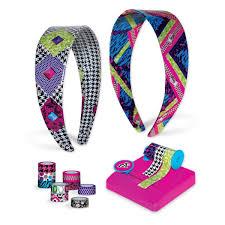 amazon com fashion angels tapeffiti headband kit toys u0026 games