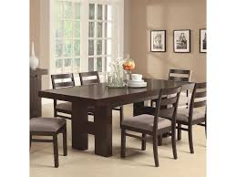 coaster dining room dining table w ext leaf 103101 rice
