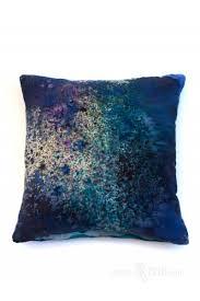 nebula print decorative pillow galaxy pillow