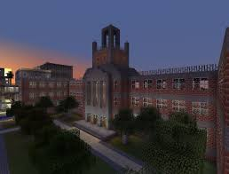 Minecraft New York Map Download by Forest Hills High Minecraft Project