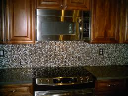 kitchen brown glass mosaic tile kitchen backsplashes with white