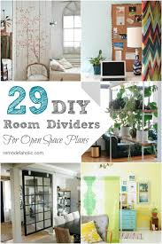 Room Divide by Remodelaholic 29 Creative Diy Room Dividers For Open Space Plans
