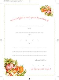 Printable Invitation Card Stock Wedding Invitation Templates That Are Cute And Easy To Make