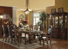 Dining Room Wall Decorating Ideas Dining Room Wall Decor Black Varnished Teak Wood Chairs White