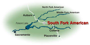 South America River Map by South Fork American River 2 Day Camp Trip Overview Earthtrek