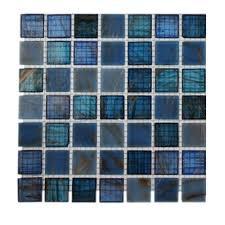 splashback tile temple seawave glass tile 3 in x 6 in x 8 mm
