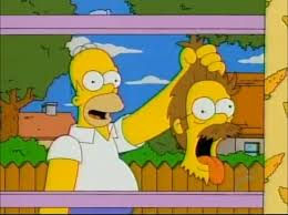 the simpsons halloween of horror every treehouse of horror ever review pt 3 the wolfman