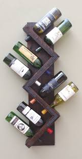Wall Mounted Shelves Wood Plans by Best 25 Wine Rack Plans Ideas On Pinterest Wine Rack Diy