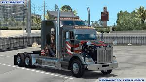 kenworth models list gt mods kenworth t800 2016 v0 1 american truck simulator mods