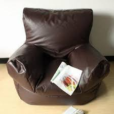 china club chair bean bag armchair available in pvc leather 2