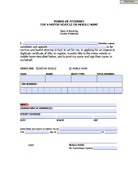 Va Power Of Attorney Form by Wyoming Medical Power Of Attorney Form Power Of Attorney Power