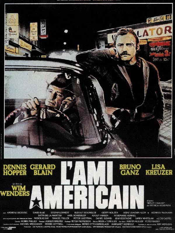 affiche de l'Ami Américain