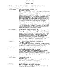 Updated Pharmacy Technician Resume  Katie Falch              Objective  A full time job that will utilize and
