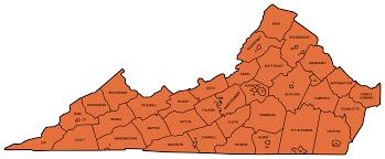 Roanoke Virginia Map by Regions U0026 Chapters Virginia Oath Keepers