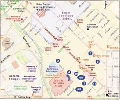 Colorado State University Map by Book Your Hotel Snmmi