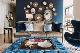 Silk Peacock Home Decor by Cool Down Your Design With Blue Velvet Furniture Hgtv U0027s