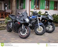 honda cbr street bike three motorcycles sport bike suzuki gs 500 gsx 600 and honda cbr
