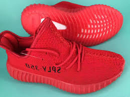 red color 350 best quality right version 350 red kanye west shoes