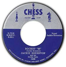 """Jackie Brenston and his Delta Cats """"Rocket 88"""", 1951"""