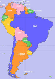 Political Map Of Latin America by Amazon South America Political Map Of The River On A Pictures To
