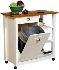kitchen island with garbage bin foter