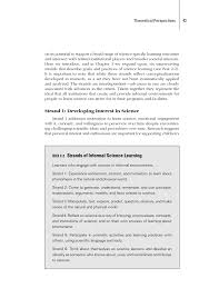 2 theoretical perspectives learning science in informal