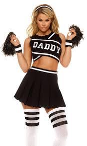 Girls Zombie Halloween Costumes Daddy U0027s Cheerleader Costume