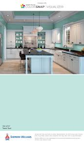 Painting Kitchen Cabinets Two Different Colors 25 Best Teal Kitchen Walls Ideas On Pinterest Teal Kitchen